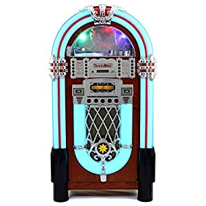 Monstershop Retro Floor Standing Jukebox Music Player Mp3
