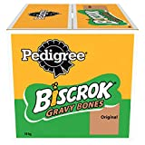 Pedigree Biscrok Grave Bones - Biscuits Dog Treats, 1 Box (1 x 10 kg)