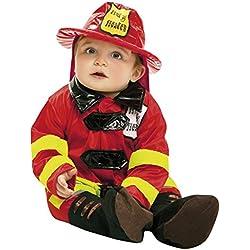 My Other Me Disfraz de bebé bombero, 1-2 años (Viving Costumes 203290)