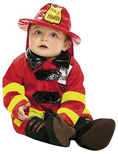 Imagen de my other me  disfraz de bebé bombero, 1 2 años viving costumes 203290