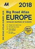AA Big Road Atlas Europe 2018 (Aa Road Atlas Europe)
