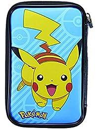 Estuche rígido con dibujo Pokémon para la nueva Nintendo 3DS XL / 3DS XL | Con compartimentos | Diseños a elegir | PXL515 |