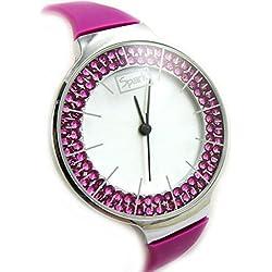 Dual watch 'Sissi' rose.