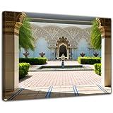 """Bilderdepot24 toile déco imprimée """"architecture marocaine - Putrajaya en Malaisie"""" 50x40cm - Tableau sur toile, Image sur toile, vente directe fabricant! déco imprimée"""