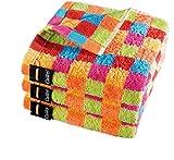 Cawö Duschtuch Lifestyle Cubes 7017 multicolor - 25 Größe 70 x 140