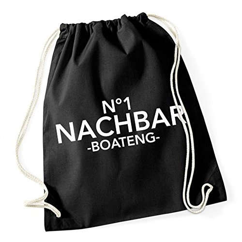 Certified Freak N° 1 Nachbar Boateng Gymsack Black