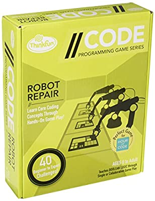 Ravensburger ThinkFun Code N ° 3–Robot Repair–Jeu de Programmation