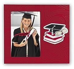 Idea Regalo - Zep W5446 Cornice portafoto, Rosso, 10 x 15 cm