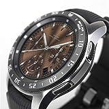 Ringke Bezel Styling para Galaxy Watch 46mm / Galaxy Gear S3 Frontier & Classic, Bisel Anillo Cubrir Anti-rasguños Proteccion - [Acero Inoxidable] GW-46-03