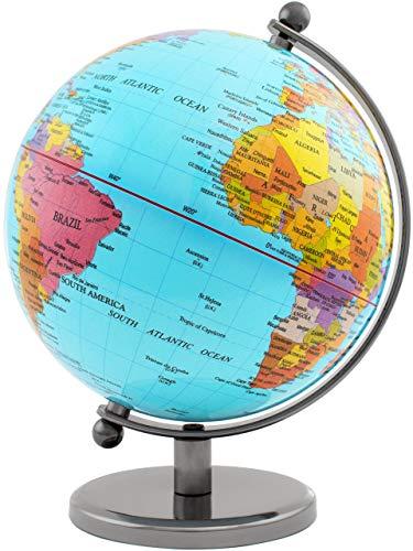 BRUBAKER Designer Globus Planet Edelstahl -