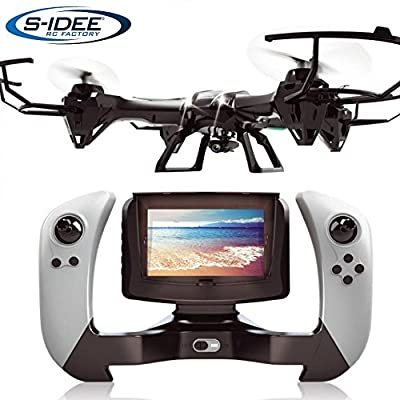 s Idea® 01608 UDI U842 Quadcopter FPV 5.8 GHz/HD Camera U842 4.5 Channel 2.4 GHz Drone with Gyroscope Technology Drone with WiFi FPV Drone HD Camera