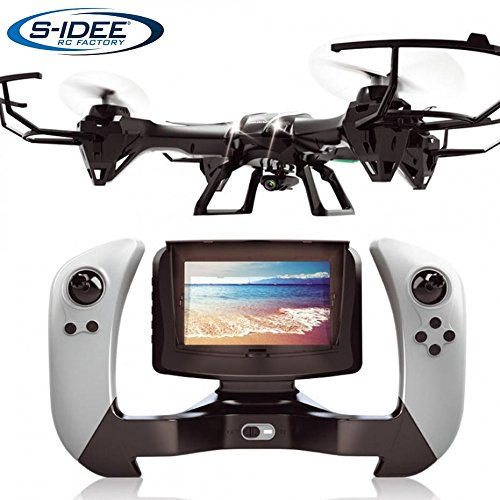 s-idee® 01608 Quadrocopter UDI U842-1 FPV 5.8 GHz Übertragung HD Kamera U842 4.5 Kanal 2.4 Ghz Drohne mit Gyroscope Technik DROHNE MIT WiFi FPV Drone HD Kamera