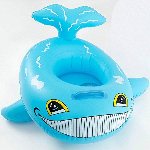 FACAI888 Aufblasbarer Hai schwimmen Ring Kindersitz