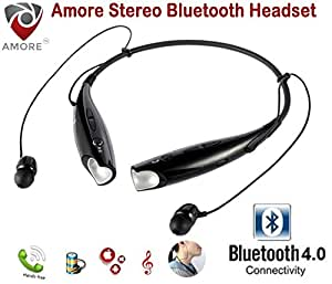 Amore Sports Bluetooth Headset Headphone Compatible With All Android Mobiles
