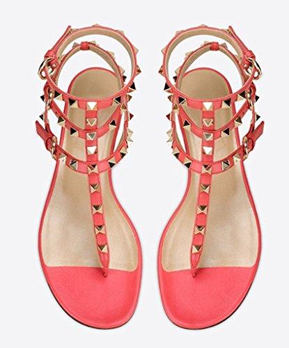 Amy Q - Strap alla caviglia donna Peach