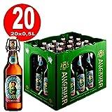20 x Allgäuer Büble Edel Weissbier ALKOHOLFREI 0,5L Bügelflasche Originalkiste MEHRWEG
