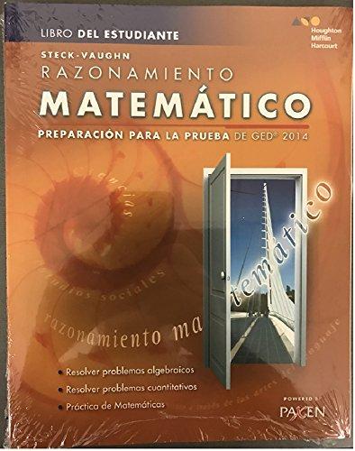 Steck-Vaughn GED Test Prep Math Reasoning Bundle por Steck-Vaughn