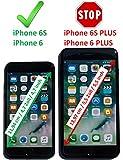 Luxus Tasche für Apple iPhone 6S und iPhone 6 (4.7 Zoll) / Case Außenseite aus Echt-Leder / Innenseite aus Textil / Schutz-Hülle seitlich aufklappbar / ultra-slim Cover / Farbe: Blau -