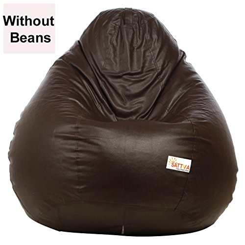 Sattva XXL Bean Bag without Beans (Brown)
