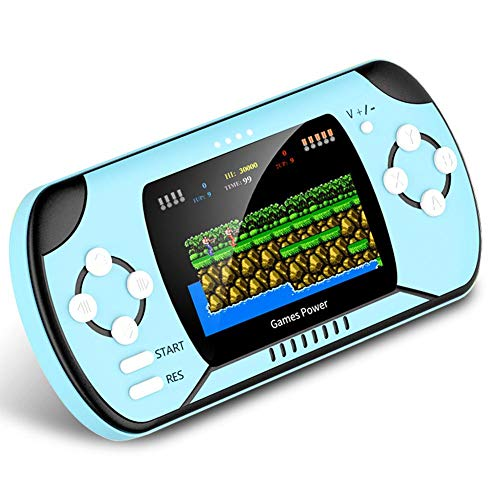 Hemicala Mobile Power Bank Spielekonsole 2 In 1 Handheld-Konsolen 300 Spiele Retro Game Player Geschenk für Kinder Kinder Erwachsene (Erwachsenen-handheld-spiele)
