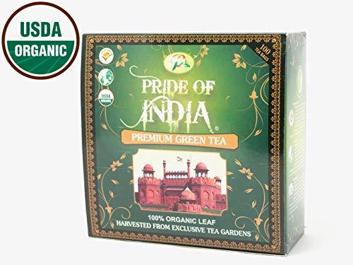 Pride Of India organischer grüner Tee, 25 count (6pack) -