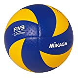 Mikasa voleibol de la Fiba Top valor serie mva200(azul y amarillo).