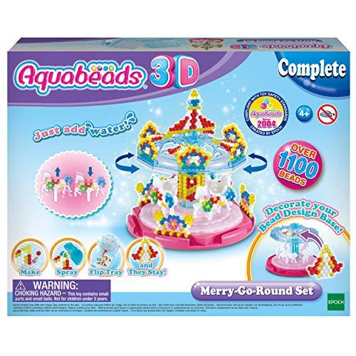 Aquabeads 31364 31364-3D Bastelset Karussell, Bunt