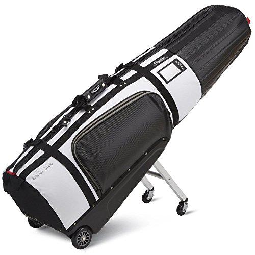 Sun Mountain�Club Glider Tour Serie Golf Travel Cover Flight Bag schwarz schwarz / wei� -