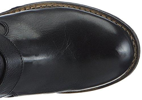 Buffalo 2531 Sauvage, Bottes Motardes femme Noir (Black 01)