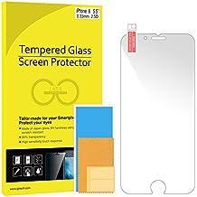 iPhone 6s Plus Protector de Pantalla, JETech [3D Touch Compatibles] iPhone 6s Plus Vidrio Templado Protector de Pantalla Empaquetado al por Menor para iPhone 6 Plus y iPhone 6s Plus 5.5 - 0810