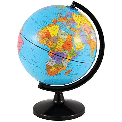Round World Earth Globe Coin Bank Beautiful - Round world map image