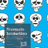 Piratensohn-Notizbuchlinie: Meuterei und das Hinterlassen von Einträgen ausdrücklich erlaubt (Variante: blue)