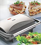 GLEN 3029 Sandwich Grill Makers with 2 Year Warranty