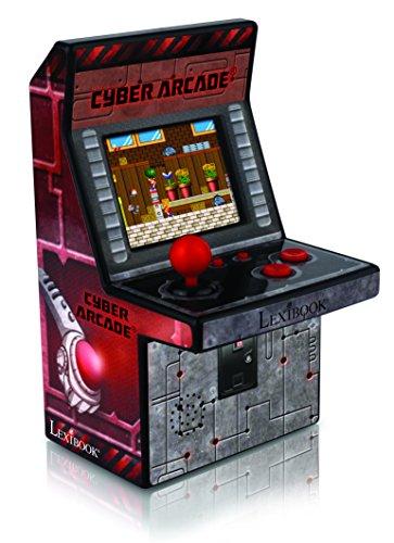 lexibook-consola-cyber-arcade-240-juegos-color-rojo-jl2950