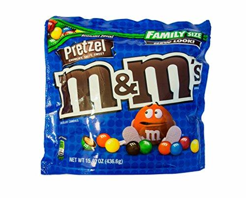 Preisvergleich Produktbild M&M´s Pretzel Family Size (436, 6g)