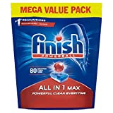 Finish Dishwasher Tablets All in 1 Max Original, 80 Tablets