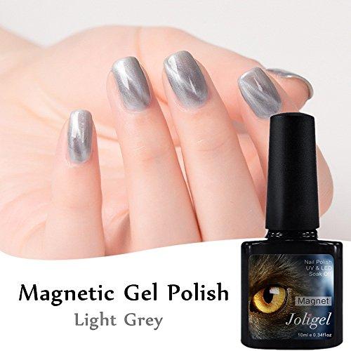 joligel Nagellack Gel semipermanenten Nagellack Magnetisch Auge Katze 3d 10ml Shellac UV LED...