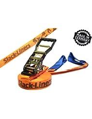 Slack-liners Sangle de slackline à cliquet Largeur 50 mm Longueur 25 m