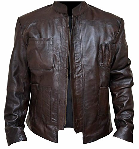 classyak da uomo stella Fashion Wars alta qualità elegante giacca Faux Brown L Chest
