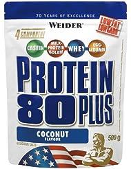 Weider 80 Plus Protein, Kokosnuss (1 x 500 g)