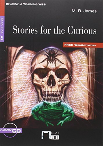 STORIES FOR THE CURIOUS (FW)+CD+APP: 000001 (Black Cat. reading And Training) - 9788468233253