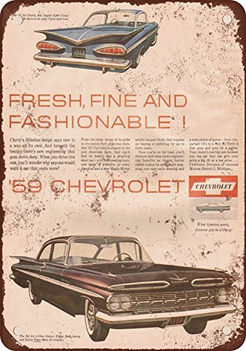 1959-chevrolet-impala-and-bel-air-vintage-look-reproduction-metal-tin-sign-8x12-inches