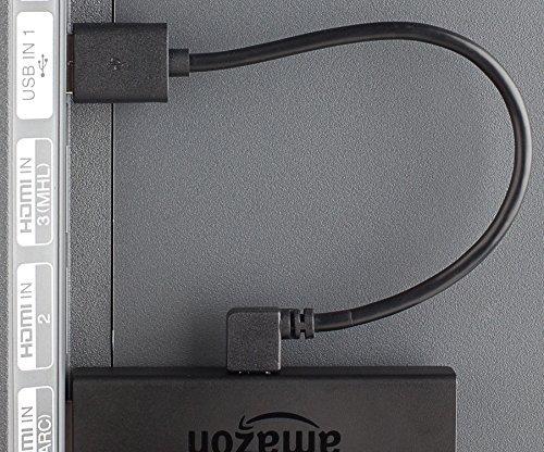 Mission Cables MC-6 micro-USB Stromkabel (für Fire TV Stick, 24 cm)
