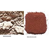 Choicepick Combo Of Original Premium Red Sanders Powder Red Sandalwood Powder 100 Grams With White Sandalwood Powder Chandan Powder 100 Grams For PUJA/FACEPACK