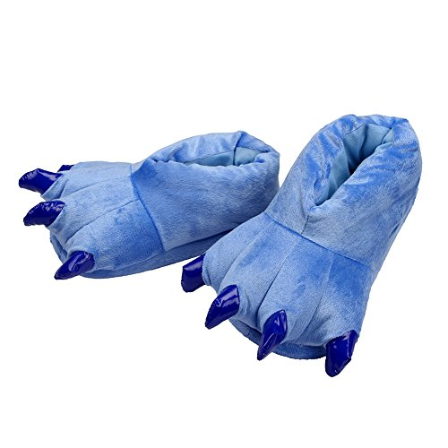 LATH.PIN Animale Cosplay Zampa Artigli Scarpe Halloween Costume Peluche pantofole Scarpe 001