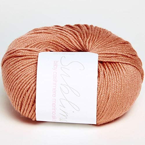 Sublime Baby Cashmere Merino Silk DK 666 Squash -