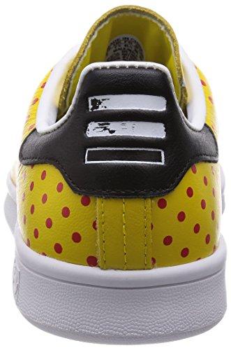 adidas Stan Smith SPD B25401, Scarpe sportive YELLOW/RED/FTWWHT B25402