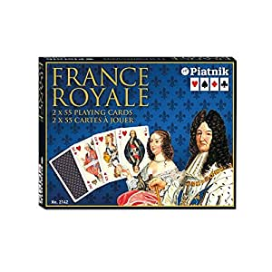 Piatnik 2142 Jeu de Cartes - France Royale