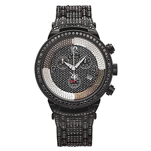 Joe Rodeo Diamant Homme Montre - MASTER noir 25 ctw