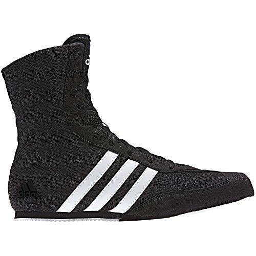 Adidas Botas de boxeo de cerdo de la caja - negro blanco * 2017 nuevo diseño * UK 6.5 - EU 40